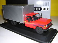 WHITEBOX 1985 CHEVROLET D-40 BOX VAN - RED/SILVER