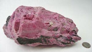 Rhodonite Natural Crystal Specimen Brazil 4 lbs 2.8oz Lapidary Chakra Reiki