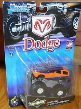 MUSCLE MACHINES STAMPEDERS Monster Truck Mosc NEW LASER STAMPEDERS Dodge