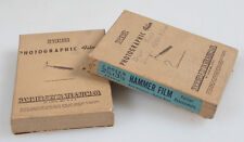 2 1/2 X 3 1/2 BLACK AND WHITE FILM BY HAMMER, 2 BOXES, AS IS