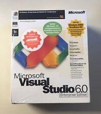 Microsoft Visual Studio Enterprise Edition - (v. 6.0 ) - Full Package Product