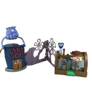 Imaginext Spongebob Squarepants Krusty Krab and Chum Bucket Playset