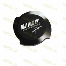 Black Brand New Ralliart Aluminum Racing Engine Oil Filler Cap For MITSUBISHI