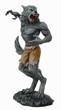 Werewolf Howling Statue.Wolf Man Creature. Tom Wood Art