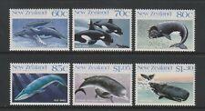 Neuseeland - 1988, Wale Set - MNH - Sg 1491/6