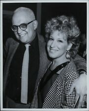 George Christy (Reporter), Bette Midler ORIGINAL PHOTO HOLLYWOOD Candid 2653