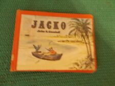 JACKO, John S. Goodall monkey story in pictures only. Rare