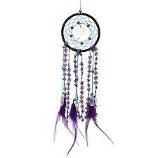 Dreamcatcher Purple Feathers & Lace Handmade