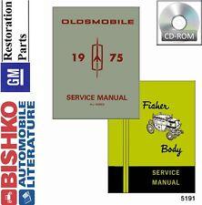 1975 Oldsmobile 98 Delta 88 Omega Shop Service Repair Manual CD OEM Guide