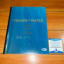 GUILLERMO DEL TORO SIGNED THE SHAPE OF WATER FULL MOVIE SCRIPT - BECKETT BAS COA
