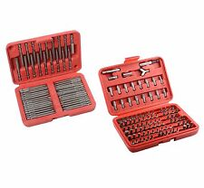 150pc Security Bit Set Tamper Proof Torx Star Tri Wing Pozi Torque w/ EXTRA LONG