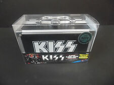 KISS ALBUM COVER COASTER SET OF 18 SDCC LIMITED 1000 GENE SIMMONS GUITAR CASE