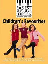 Easiest Keyboard Collection Childrens Favourites Learn Play Piano Music Book