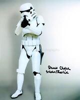 DEREK CHAFER as a Stormtrooper - Star Wars GENUINE AUTOGRAPH UACC (Ref:2421)