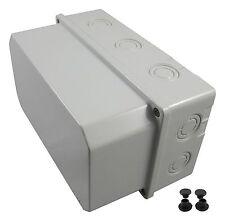 Feuchtraumgehäuse Schaltkasten Verteilerkasten Sicherungskasten Klemmkasten NEU