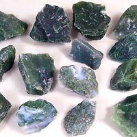 Moosachat Achat 300g Rohsteine Wassersteine Edelsteine Wasseraufbereitung Steine