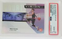 2018 Panini Status Court Vision #8 Trae Young Hawks RC Rookie PSA 10 GEM MINT💎