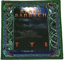 BLACK SABBATH - Tyr - Square Printed Patch Green Stitching Tony Martin aufnäher