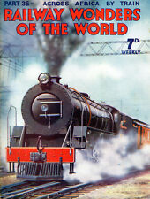 Railway Wonders of The World,* PART 36 - October 4, 1935