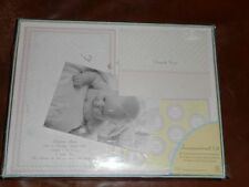 Create Your Own Announcement Kit 50 Count Baby with picture corners New