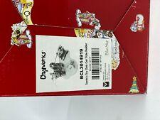 Heather Goldminc Blue Sky Clayworks Cat Sleigh Santa's Tryouts T-Lite Holder Guc