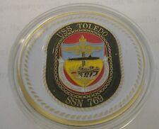 USS TOLETO  SS SSBN 769 SUB SUBMARINE CHALLENGE COIN