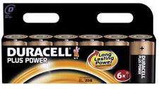 Duracell Plus Power D Batteries - Pack of 6 (MN1300B6PP)