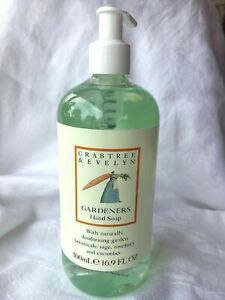 crabtree evelyn gardeners hand soap large