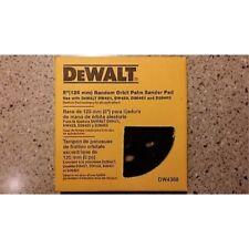 DEWALT 5-Inch Random Orbit Palm Sander Pad, Medium (Fits the DW421K and DW423K)