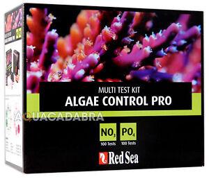 RED SEA ALGAE CONTROL PRO TEST KIT MARINE REEF NO3/PO4 AQUARIUM FISH TANK