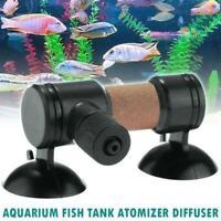 Super CO2 Atomizer Carbon Dioxide Bubble Diffuser Aquarium Grass Plant Tank UK