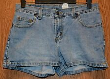 Womens Denim Jordache Flat Front Shorts Size 9 10 very good