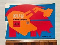 ASC JAPAN 1969 TIN TOY CATALOGUE! BATMOBILES! GREEN HORNET CAR! MACH GOGOGO! +++