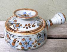 Vintage Ken Edwards Mexican Pottery Lidded Bean Casserole Tonala Mexico
