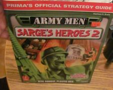 Army Men Sarge's Heroes 2 Prima's Official guide very good condition