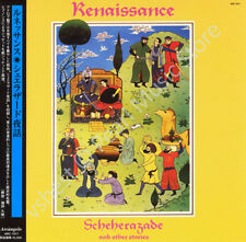RENAISSANCE SCHEHERAZADE AND OTHER STORIES CD MINI LP OBI Yardbirds Annie Haslam
