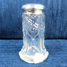 GEORGE V ANTIQUE SILVER & CUT GLASS DRESSING TABLE BOTTLE BIRM. 1911
