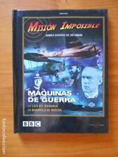 DVD + LIBRO MISION IMPOSIBLE - MAQUINAS DE GUERRA - LA CAZA DEL BISMARCK... (8N)