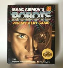 ISAAC ASIMOV'S ROBOTS VCR MYSTERY GAME Kodak VHS Very Good Works Complete Rare!!
