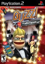 Buzz! Hollywood Quiz (Game Only) PS2 New PlayStation2, Playstation 2