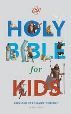 ESV Holy Bible for Kids, Large Print (2016, Hardcover) - FREE SHIPPING