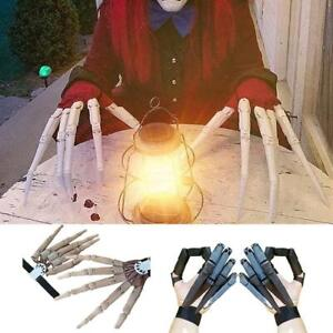 3D Printed Articulated Finger Halloween Articulated Fingers Extensions Cosplay.