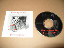 Grahame Lister Back To Square one 11 track cd 1993 Excellent Condition Rare