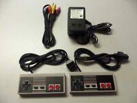 Nintendo NES Controllers AV Cable Power Adapter Bundle For Nintendo NES Nintendo