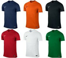 Nike Park VI Short Sleeve Mens Football T Shirt Jerseys Tops Sports T shirt Gym