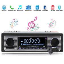 Classical Retro Style Bluetooth Car Stereos Head Units Car Radio USB/SD/Charging