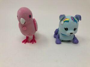 Little Live Pets Pink Parrot Blue Dog