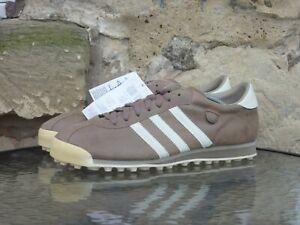 2008 Adidas Originals Vintage Turf UK10.5 / US11 New NWT Rare Brown Leather