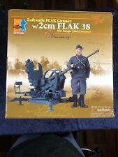 "Dragon WWII 1/6 FLAK Gunner ""Marcus Holzhammer"" w/2cm FLAK 38 NW Europe 1940"
