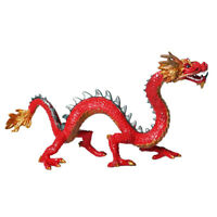 Chinese Dragon Figures Realistic Animal Educational Birthday Gift Collection Toy